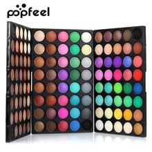 Popfeel 40/120 Colors Gliltter Eye Shadow Palette Matte Eyeshadow Women Beauty Makeup Shimmer Shinne EyeShadow