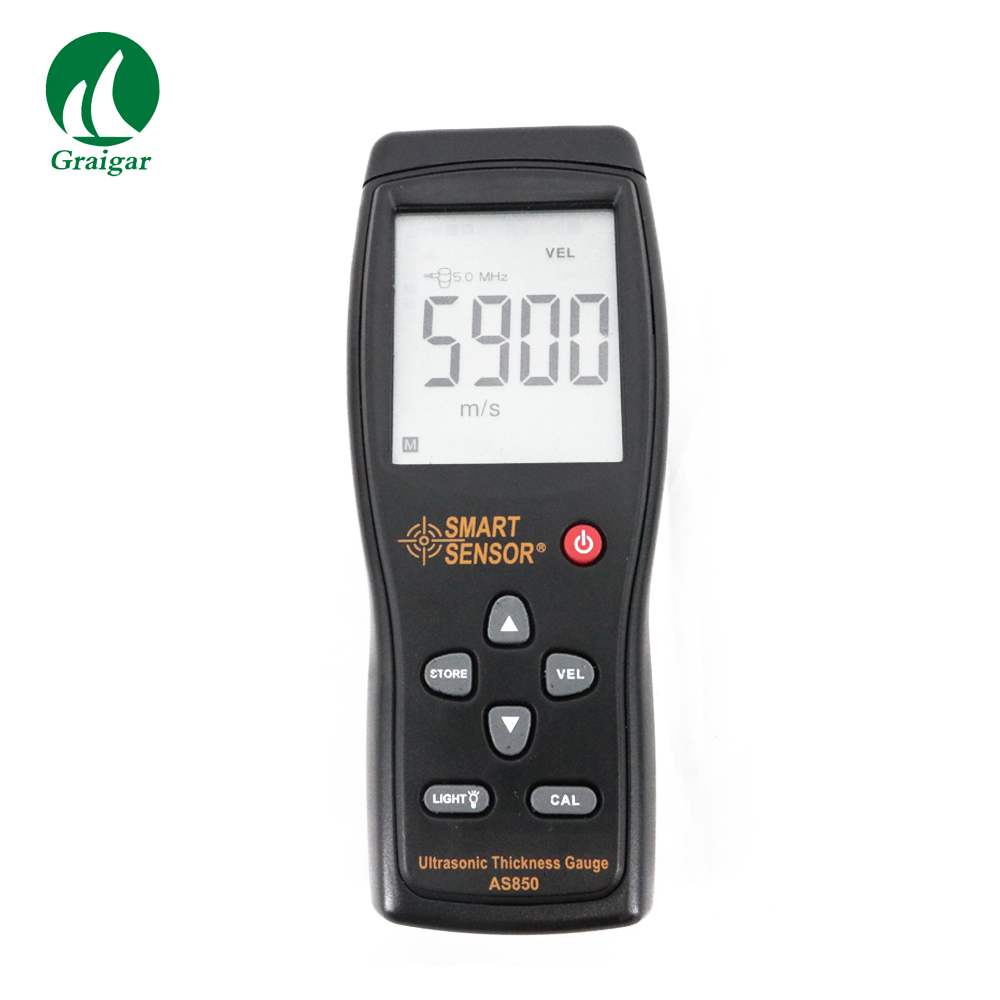 Portable Smart Sensor AS850 Ultrasonic Thickness Gauge  for Non destructive Testing to Check Material Properties|Width Measuring Instruments| |  - title=