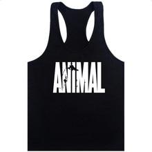 GYM WINER Animal Stringer Bodybuilding Tank Top Solid Gym Si