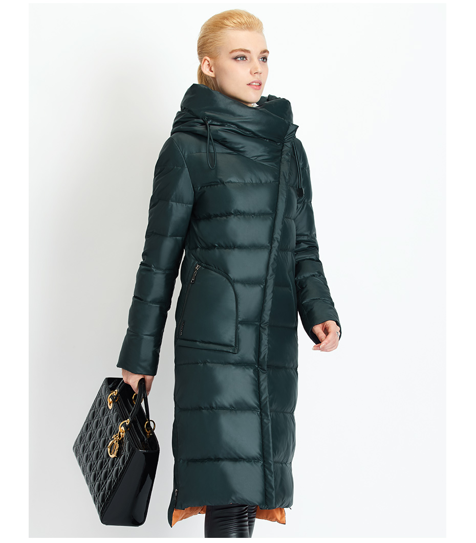 Fashionable Coat Jacket Women's Hooded Warm Parkas Bio Fluff Parka Coat High Quality Female New Winter Collection 32