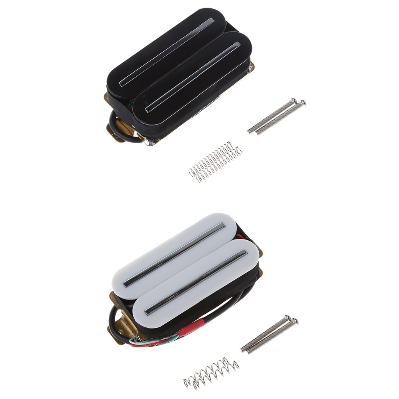 Electric Guitar Pickup Ceramic Dual Rail Double Coil Humbucker 57 High Output