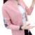 Nueva Primavera Otoño Suéter Cardigans de Punto de Manga Larga de Las Mujeres 2017 de La Moda Coreana Damas Suéteres Outwear Femenino Femme Tirón