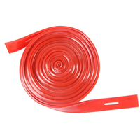 Long Resistance Bands 10m Red Resistance Band Tensile Strength Training Exercise With Elastic Band