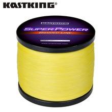 KastKing SuperPower seria 300m 500m 1000m 4 Strand 10 50LB pleciony żyłka PE Multifilament warkocz linie jezioro rzeka wędkowanie