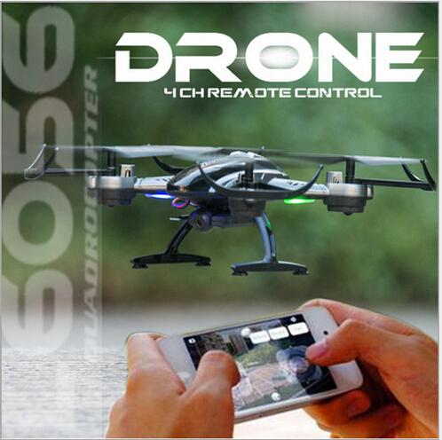 Lishitoys L6056 Headless Modo Mini Helicóptero 2.4G 6 Eixos suporte WI-FI em tempo real transmissão RC Quadcopter Drone com HD câmera