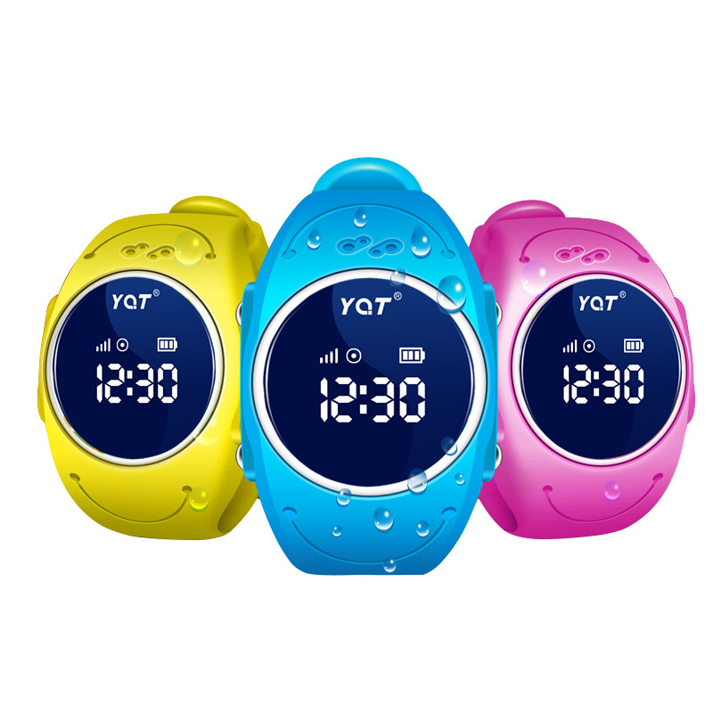 Q520s waterproof IP68 gps tracker kids smart watch with free shipping