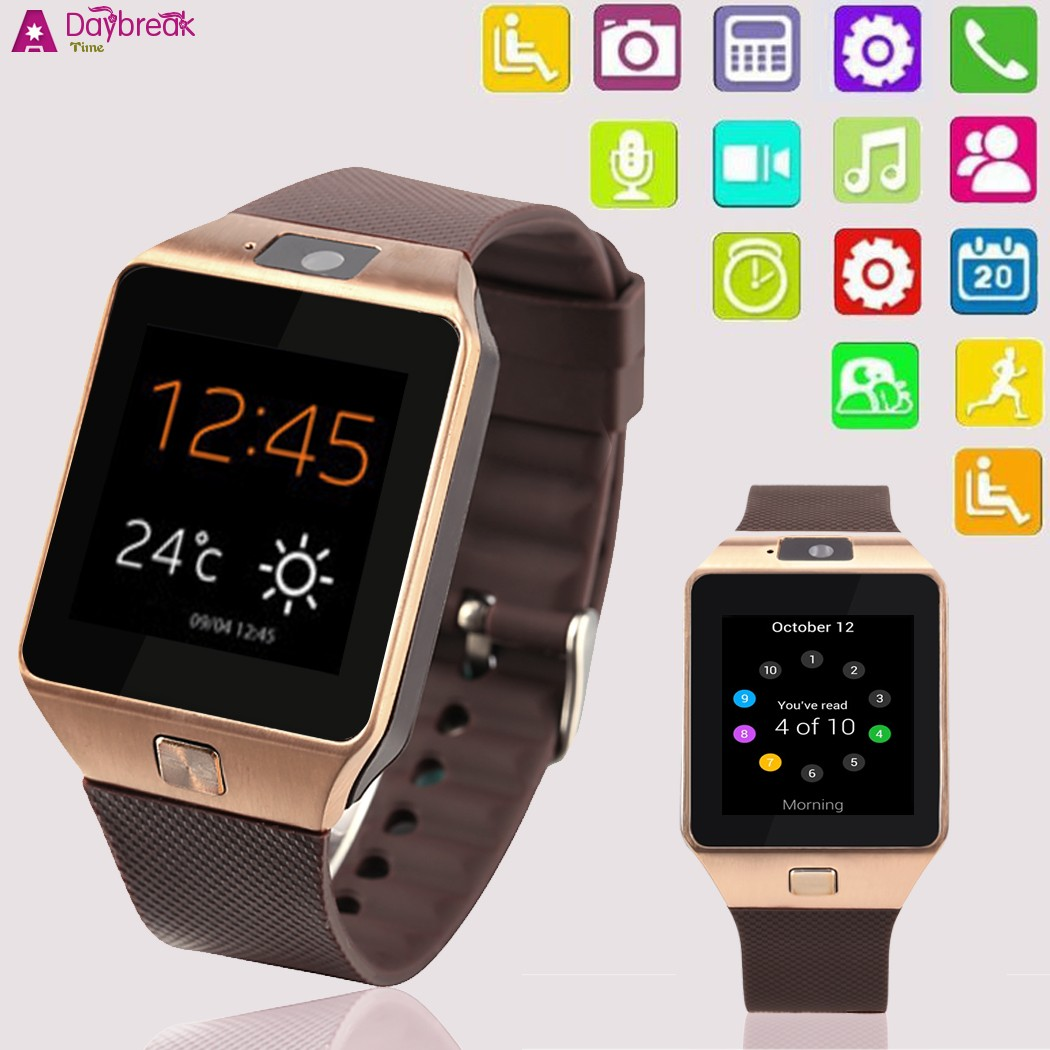 2016 New Fashion Bluetooth 30 Smart Watch Wristwatch Support For Samsung Galaxy HTC Android Phones In Watches From Consumer Electronics On