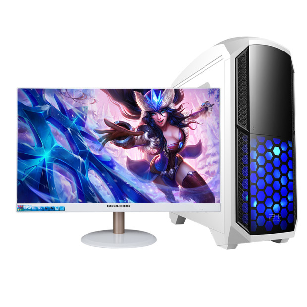 Gaming Desktop Intel I7 Quad Core 4/8gb Ram 120Gb/1tb HDD With 18.5 22 24 Inch Monitor Superior Quality Game Computer Desktops