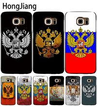 HongJiang russia federation flag retro cell phone case cover for Samsung Galaxy S7 edge PLUS S8 S6 S5 S4 S3 MINI