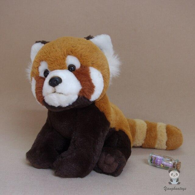 Red Panda Plush Doll Toy Birthday Gifts Real Life Animal Dolls