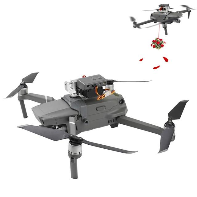 원격 제어 파라볼 릭 에어 드롭 서보 스위치 dji mavic 2 pro/zoom drone 액세서리 용 에어 파라볼 릭