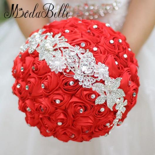 2016 Kungliga Blå Bröllop Blommor Buketter Fleur Bleu Roi Bröllop - Bröllopstillbehör - Foto 2