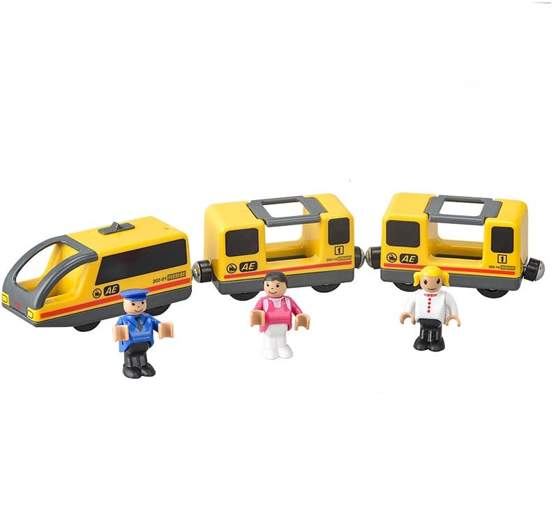 Lodrat e trenave elektrik për fëmijë vendosin lodrën e foleve të - Makina lodër për fëmije - Foto 2