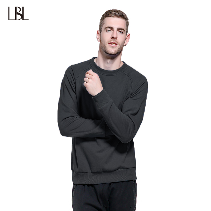 Europe Size Hip Hop Style Sweatshirts Men Warm Pullover Streetwear Round Collar Sportswear Solid Color Fleece Hoodies Couples