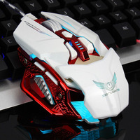 Wired Mouse 6 Buttons Usb Gamer Mouse Mice Computer Laptop Professional Gaming Mouse 4000dpi Adjustable Silent Ergonomic
