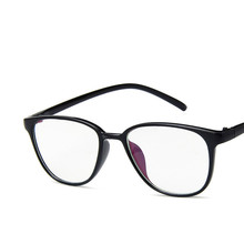 Boyeda New Women Men Clear Transparent Glasses Young People