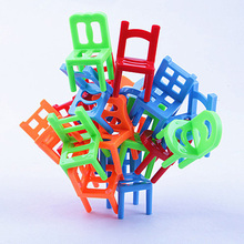 """Balance Chairs"" Board Game Children Educational Toy Balance Toy Puzzle Board Game Environmental Protection ABS Plastic"
