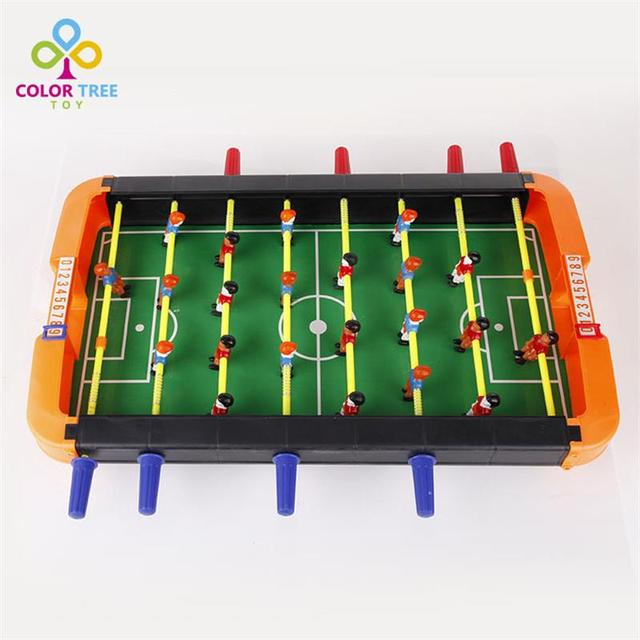 fun high quality table football office soccer game family indoor sports toys set football toy xmas