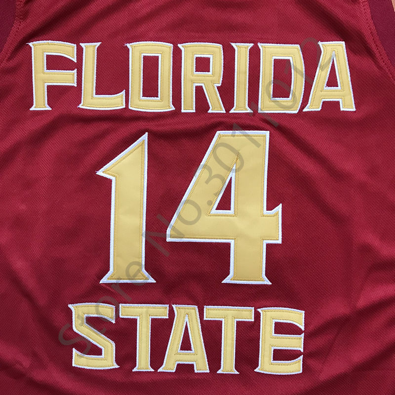 ad638c0e1f10 2018 New  14 Terance Mann Florida State College Throwback Basketball Jersey  Stitched S XXL Rare-in Basketball Jerseys from Sports   Entertainment on ...