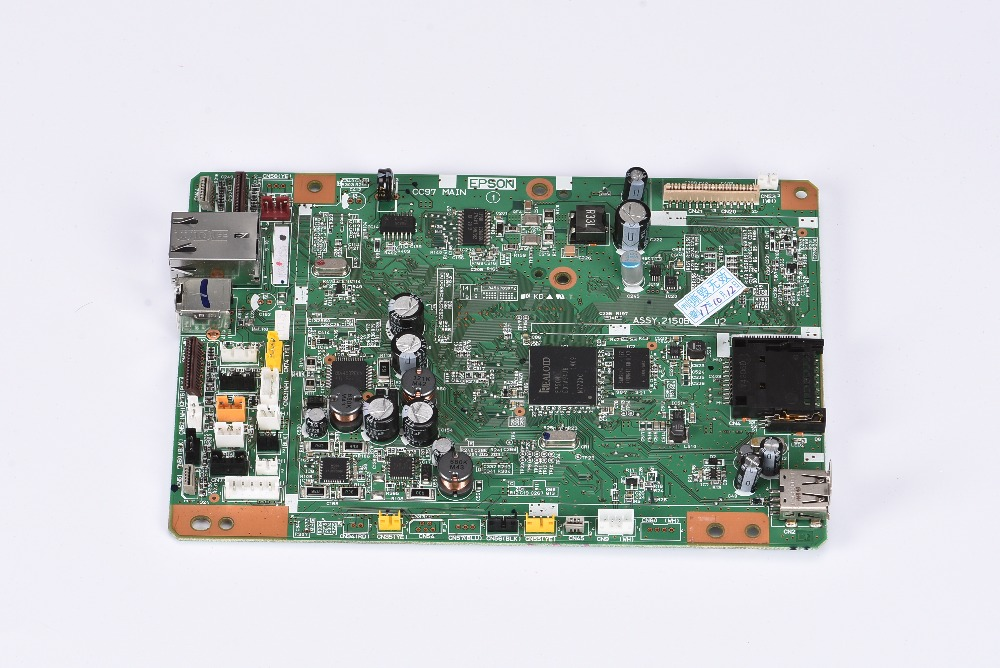 Free shipping Formatter Board MainBoard mother board Main Board logic board for Epson wf7610 wf7620 printer formatter board main for epson tm 88iii label printer mainboard