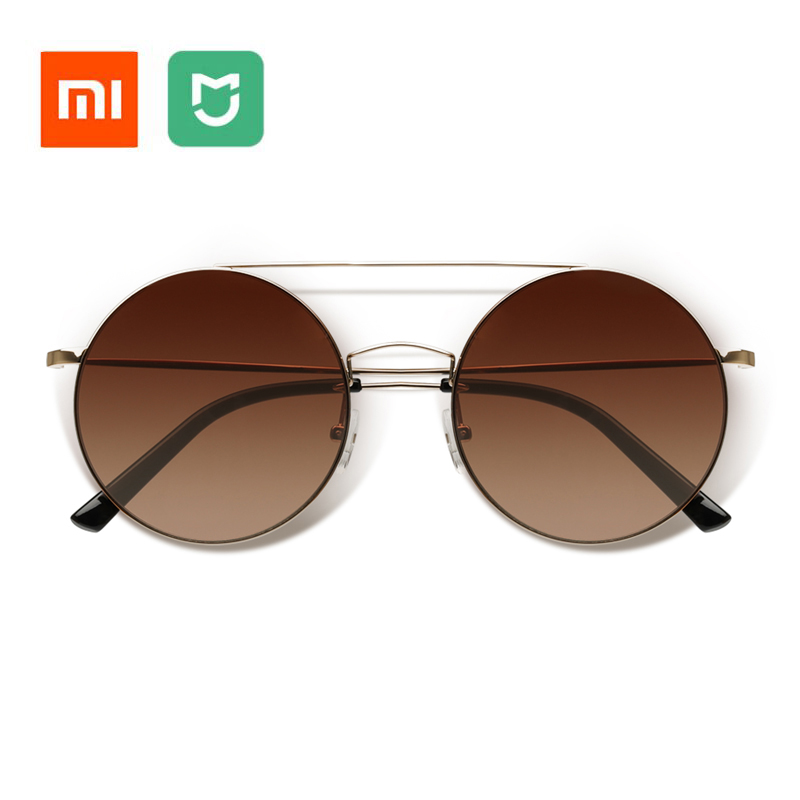 Newest Original Xiaomi Mijia TS Sunglasses Fashionable Version Sun Mirror Lenses Nylon Polarized 100% UV-Proof for Man and Women retro women sunglasses polarized driving sun glasses with pc metal hinge shades uv400 protection gafas de sol mujer 4 colors
