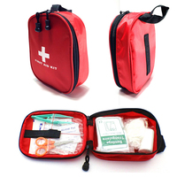 Free Shipping Mini Travel First Aid Kit Bag Portable Car First Aid Kit Survival Kit