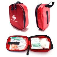 Free Shipping Mini Travel First Aid Kit Bag Portable Car First Aid Kit Survival Kit