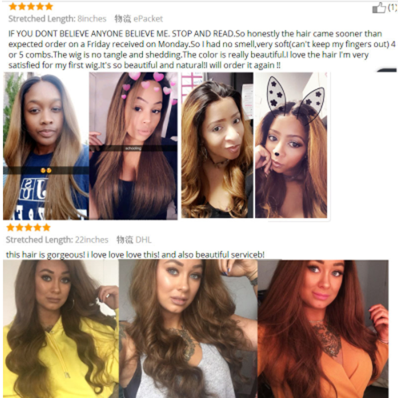 Ombre Three Tone Blonde Glueless Lace Front Wig 130% Density Lace Front Human Hair Wig With Baby Hair Pre Plucked Remy Hair KRN