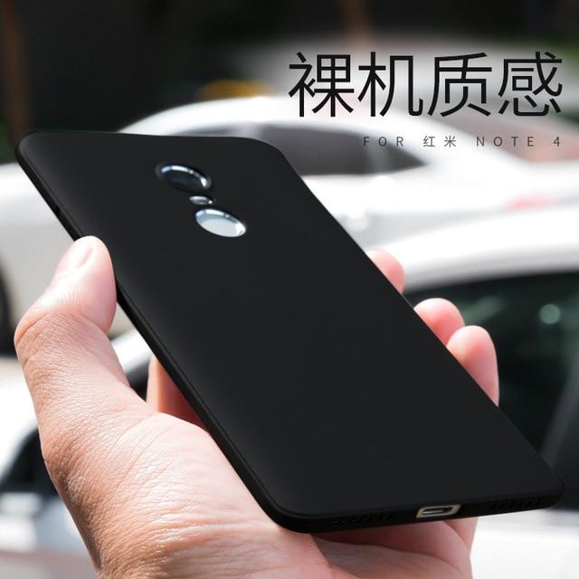 Мягкие tpu case для xiaomi redmi note 4x4 3 ультра-тонкий матовый защитная задняя крышка для xiaomi redmi note 4 3 4x телефон shell