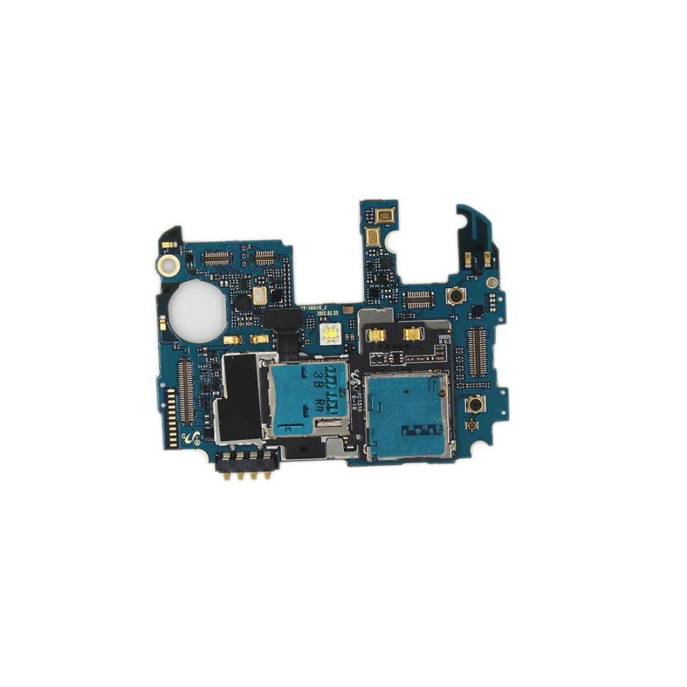 Oudini Unlocke For Original Samsung Galaxy S4 I9505 Motherboard 16GB With Chips Android Os   Good Working Test 100%
