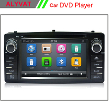 6.2 inch HD Car DVD Player GPS Navigation For Toyota Corolla E120 2003 2004 2005 2006 with Bluetooth Steering wheel control