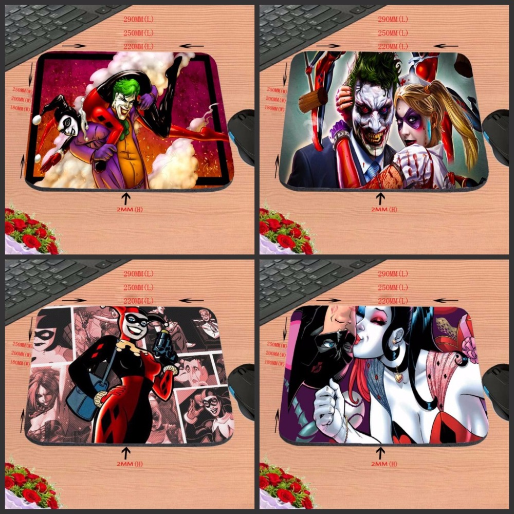 Funny Joker Story Top Selling Print Anti-slip New Arrival Customized Rectangular Rubber Mouse Pad Computer PC Nice Gaming