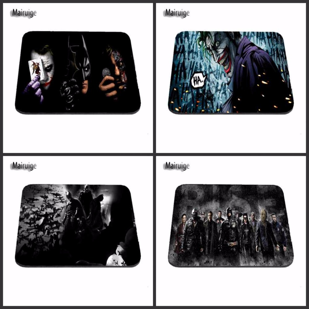 Top Selling DIY New Arrival 2017 Custom Batman Joker And Two Face New Arrivals Mouse Pad Computer Gaming Mouse Pads