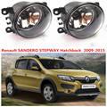 Для Renault Sandero STEPWAY 2007-2015 Передние Противотуманные фары Противотуманные Фары Галогенные Автомобилей Стайлинг 1 КОМПЛ. 35500-63J02