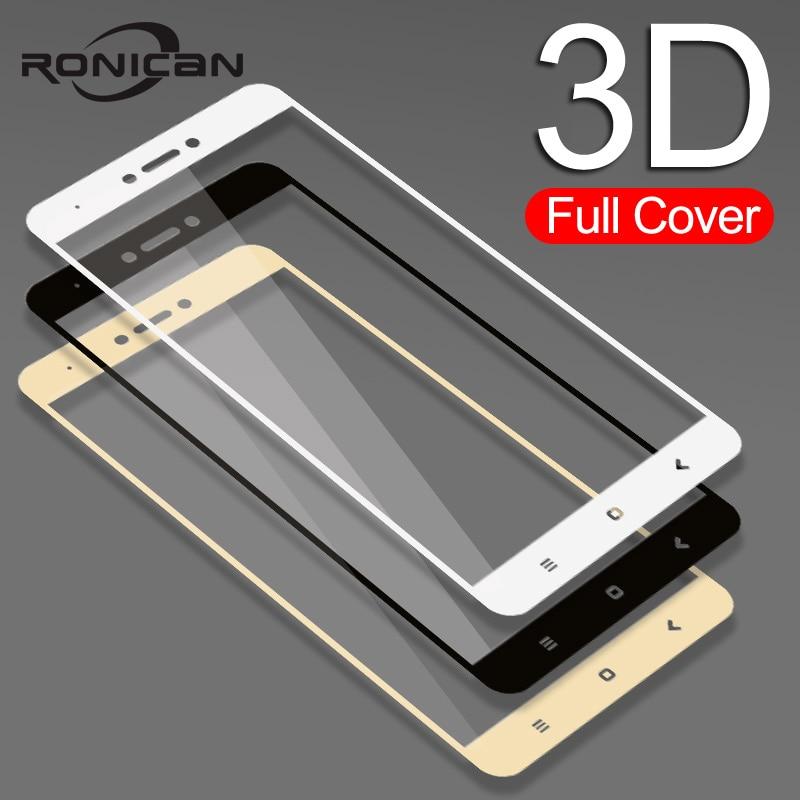 Completa Tampa de Vidro Temperado Para Xiaomi Redmi 4X 4A 3s Para Redmi Nota 5A prime 5Plus 3X Nota 5 4 4X Temperado Filme Protetor de Tela