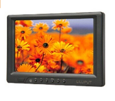 Lilliput 669GL-70NP/C/T, 7Touch Screen Monitor With HDMI, DVI, VGA Inputs + Auto Switching And 4 Wire Touch Panel набор крючков lilliput 4 шт