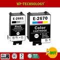 Совместимый чернильный картридж для epson t2661 t2670 для принтера Epson WorkForce WF-100W