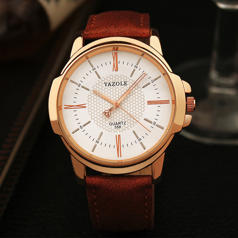 Yazole Brand Luxury Famous Men Watches Business Mens Watch Male Clock Fashion Quartz Watch Relogio Masculino reloj hombre 2019 Islamabad