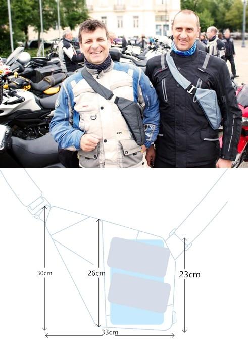 Esportes Viagem Carteira Invisível Axilar Multifuncional Saco do mensageiro