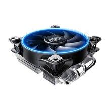 PcCooler U-4D 4 Медь тепловыми Процессор кулер для AMD AM3 AM4 Intel 775 115X Процессор радиатора 120 мм 4pin ШИМ охлаждения Процессор вентилятор PC тихий