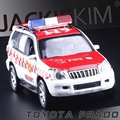 High Simulation Exquisite Diecasts & Toy Vehicles: CaiPo Car Styling TOYOTA Prado Official Vehicles 1:32 Alloy SUV Car Model