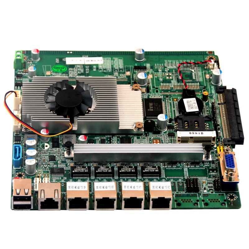 4 ethernet firewall motherboard with 1*CF or Cfast storage interface partaker 1u firewall server security firewall d525 with intel pci e 1000m 4 82583v 2gb ram 32gb ssd pfsense router