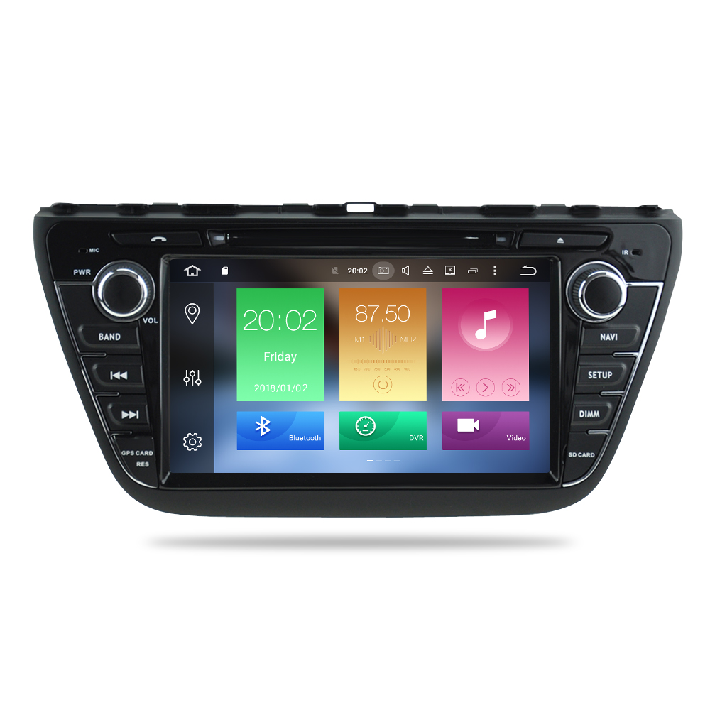 Android 9.0 Car Radio DVD Stereo For Suzuki SX4 S Cross 2014 2015 2016  Audio GPS Multimedia Player Bluetooth Video Navigation-in Car Multimedia Player from Automobiles & Motorcycles