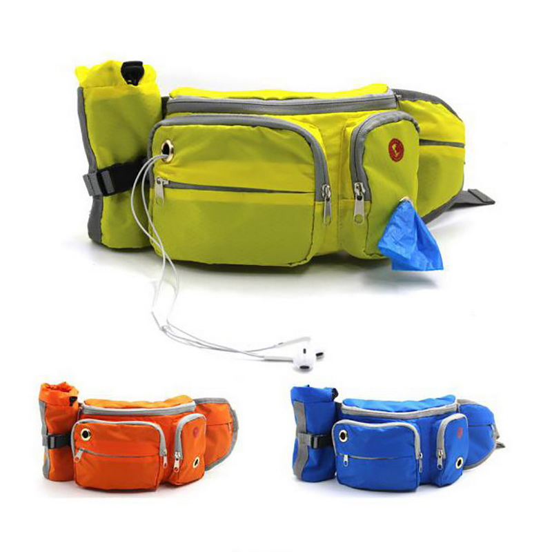 Hoomall Snak-Bags Bags-Pockets Snack Pet-Dog-Carrier Dogs Outdoor Portable For Cats Mesh