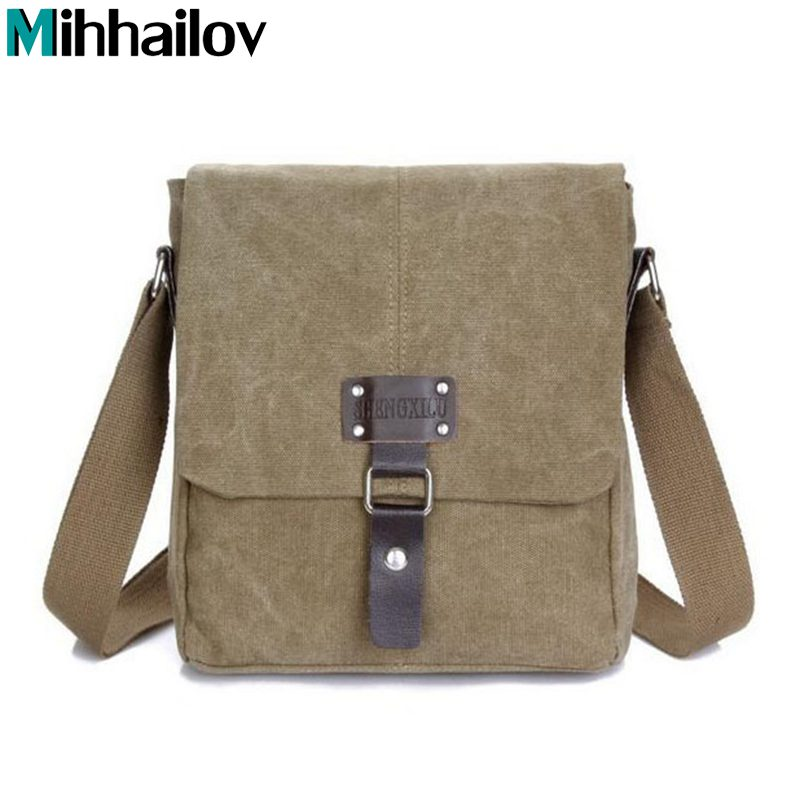 2016 New men messenger bags crossbody shoulder bag hot sale canvas bags high quality men's travel men briefcase  KY-181