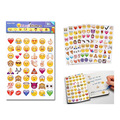 4 pcs/lot Emoji expression containing 96 Emoji stickers affixed to the wall face 50% off
