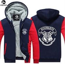 USA size Men Women Harry Potter Jacket Sweatshirts Thicken Hoodie Coat(China (Mainland))