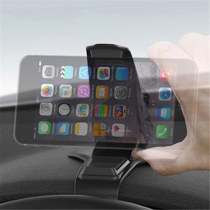 HTB1P17sgmzqK1RjSZPxq6A4tVXae Universal Car Dashboard Mount Holder Pad Stand Hud Design Clip Vehicle Monuted GPS Mobile Phone Support Car Accessories
