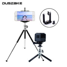 DUSZAKE DG22 Tripod For Gopro Hero 6 Monopod For Gopro Hero 5 Tripod For Gopro Hero 6 Selfie Stick For Xiaomi Yi 4K Eken H9 Cam(China)