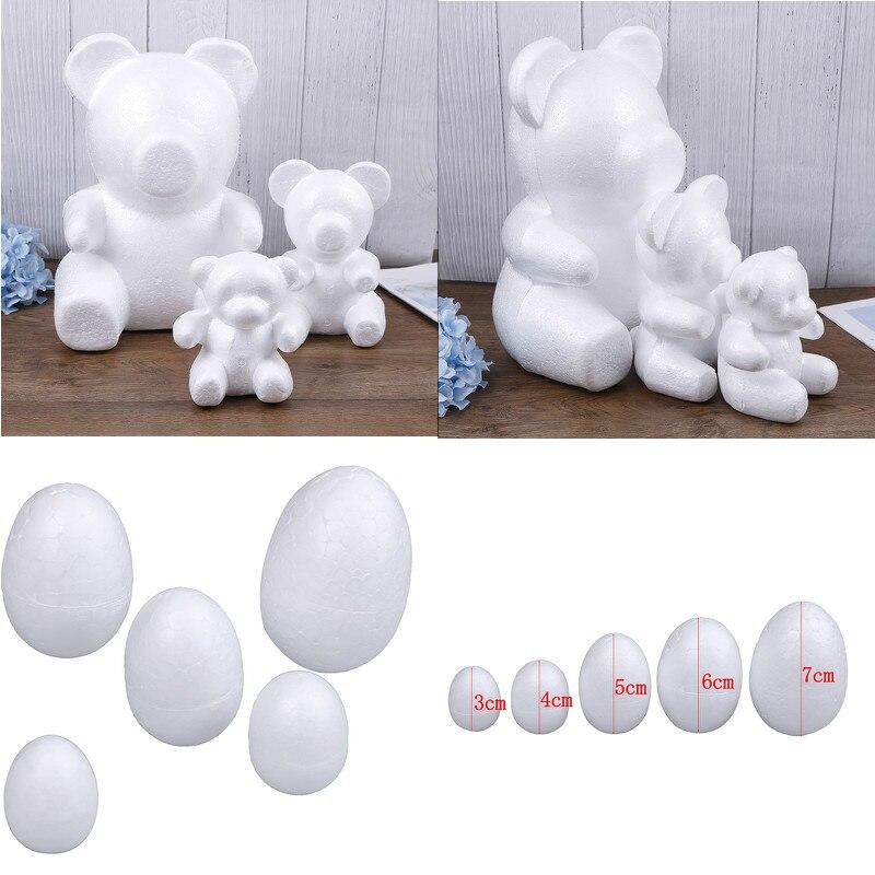 5//10//20//30pcs Modelling Polystyrene Styrofoam Foam Ball Xmas DIY Decor 2019!